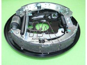 automrazik 1J0609426 Držák čelistí, štít plechový zadní buben Octavia I, Roomster kompletní pravý 2