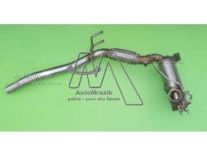 automrazik 1K0254707L Filtr pevných částic + katalyzátor 1.díl výfuku Škoda Octavia II, Superb II, Yeti 1.6, 2.0 TDI CR