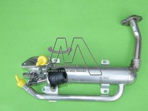 automrazik 03G131512AD EGR ventil,chladič zpětného vedení spalin Octavia II, Superb II, Fabia II, Roomster 1.9, 2.0 TDi