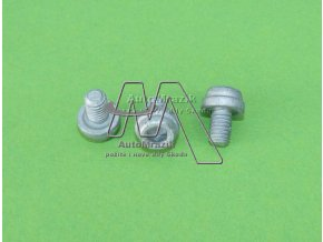 automrazik N90818302 Šroub pro uchycení brzdového válečku M6x9 Fabia I, II, III, Roomster, Octavia, Rapid, Citigo