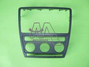 automrazik 1Z0858069A9B9 Krycí rámeček ovladačů a rádia Octavia II vozy s automatickou klimatizací