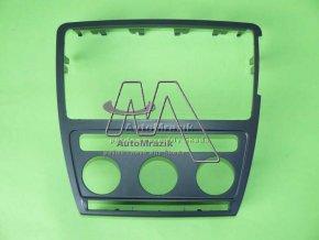 automrazik 1Z0858069E9B9 Krycí rámeček ovladačů a rádia Octavia II vozy s automatickou klimatizací + držák telefonu