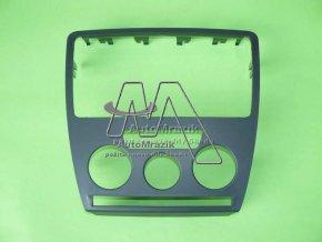 automrazik 1Z08580699B9 Krycí rámeček ovladačů a rádia Octavia II vozy s manuální klimatizací
