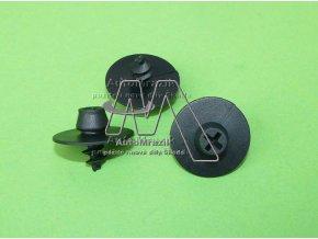 automrazik 3D086481247H Plastový šroub pro uchycení koberce v interiéru černý
