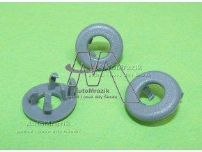 automrazik 6U08671095SE Plastový, vodící kroužek pro kolík zajištění dveří Škoda Felicia 1998 šedý. jpg