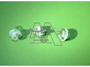 automrazik 1U0919062C Žárovka do přístrojové desky, budíků zelená patice 2W 12V Škoda Felicia