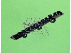 automrazik 5J6807375 Držák, vodící profil zadní nárazník Fabia II 2008 hatchback levý