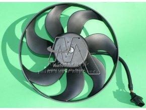 Ventilátor, větrák chladiče Octavia, Fabia velký 345mm