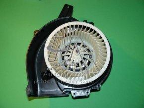 Ventilátor, větrák + motor topení Fabia I, II, Roomster
