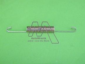 automrazik 109338120 Pružinka pro brzdové obložení, čelisti, pakny zadní , horní dlouhá Škoda 105, 120, 130