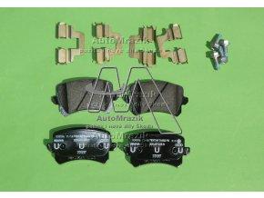 automrazik 1K0698451K Brzdové destičky zadní Superb II, Octavia III pro kotouč 310x22mm