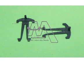 automrazik 3D0867646 Příchytka pro ochrannou mřížku chladiče klimatizace Octavia II, Superb II