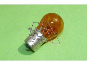 automrazik N10256407 Žárovka pro směrové světlo, blikač 12V PY21W BAU15S oranžová