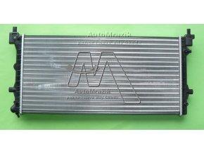 automrazik 6R0121253 Chladič vody Fabia II, III, Roomster, Rapid 649x340 mm 2