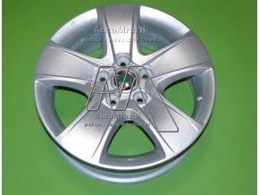 automrazik 1Z0071494 Alu kolo, hliníkový disk CRATERIS 6.5Jx16 , ET 50 Škoda Octavia II