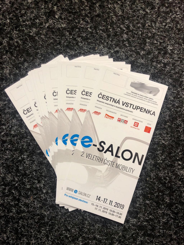 ⚡ 50 čestných vstupenek na E-Salon