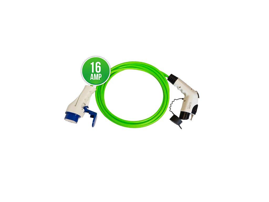 Prémiový nabíjecí kabel Typ 3 - Typ 1 16A | 1 fáze | do 3,7 kW