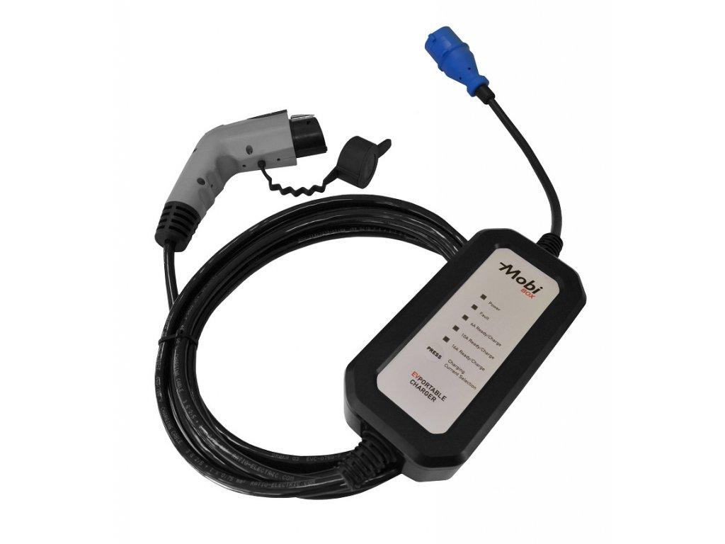 Přenosná nabíječka Typ 1 | Yazaki | 6-16A max. 3,7 kW