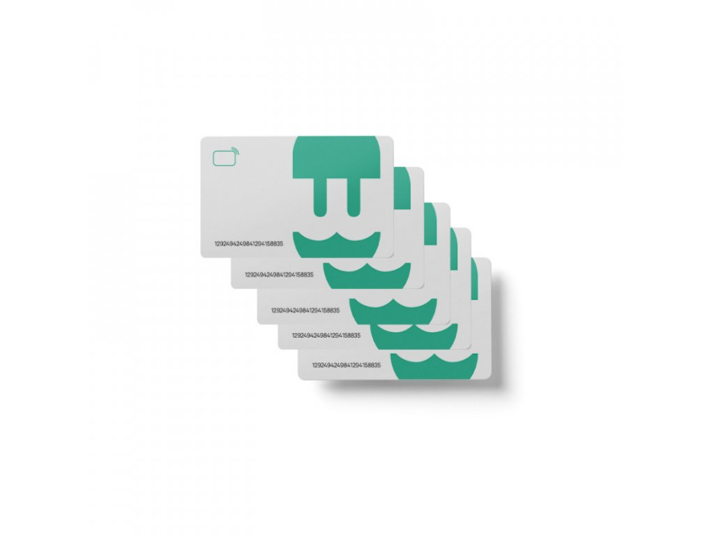 rfid cards wallbox stations compatible only pack of 5 cards