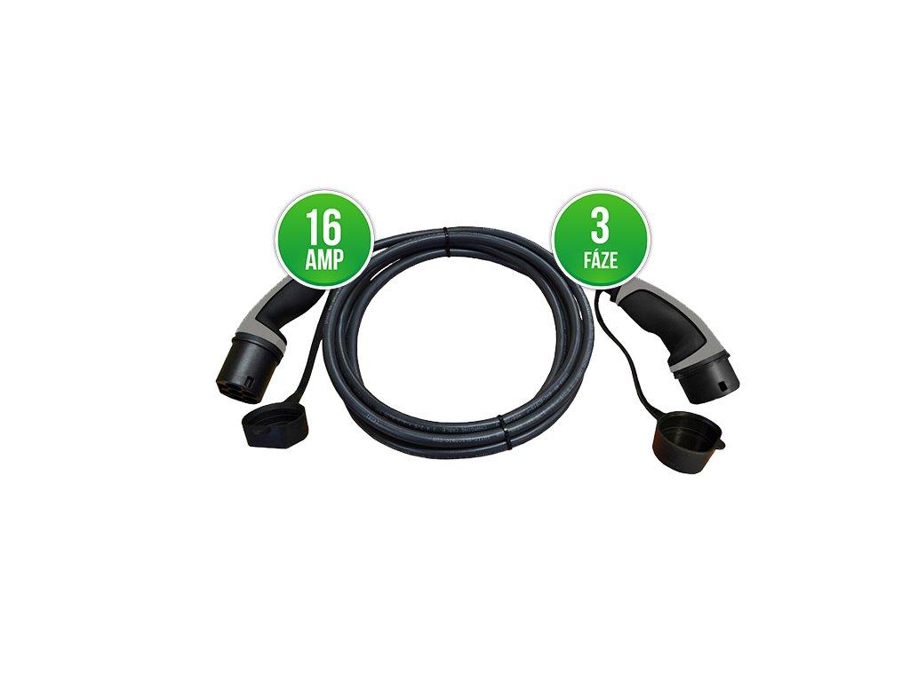 Prémiový nabíjecí kabel Typ 2 | Mennekes | 3f/16A max. 11 kW