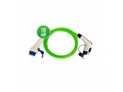 Prémiový nabíjecí kabel Scame - Yazaki 16A | 1 fáze | do 3,7 kW