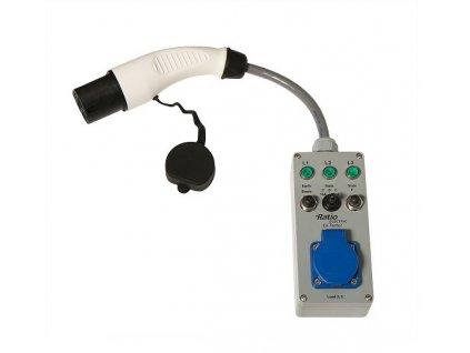 EV Tester s kabelem