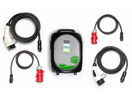 Dvoufázová přenosná nabíječka | 2x13A na 1x24A max. 6 kW