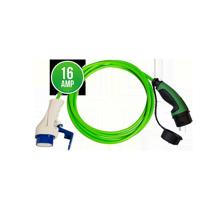 Prémiový nabíjecí kabel Scame - Mennekes 16A | 1 fáze | do 3,7 kW