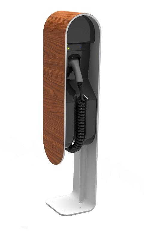EVita   kabel Typ 2 / Mennekes   max. 22 kW   Dřevo Maximální výkon: 7,4 kW / 1 fáze / 32 A