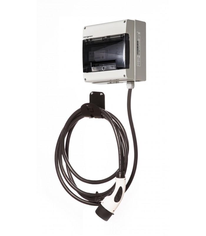 HomeBox Mini T2   kabel Typ 2   Mennekes   až 7,4 kW Maximální výkon: 7,4 kW / 1 fáze / 32 A