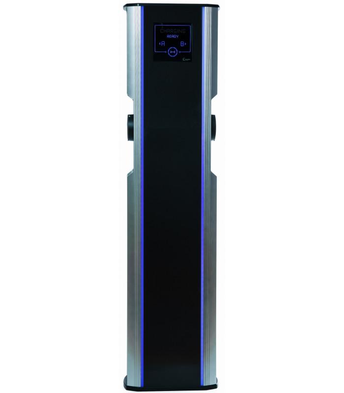 CityCharge V2   max. 2x22 kW Maximální výkon: 2x 7,4 kW / 1 fáze / 32 A, Autentizace: RFID karta +10 přístupových karet + automatické uzamykání…