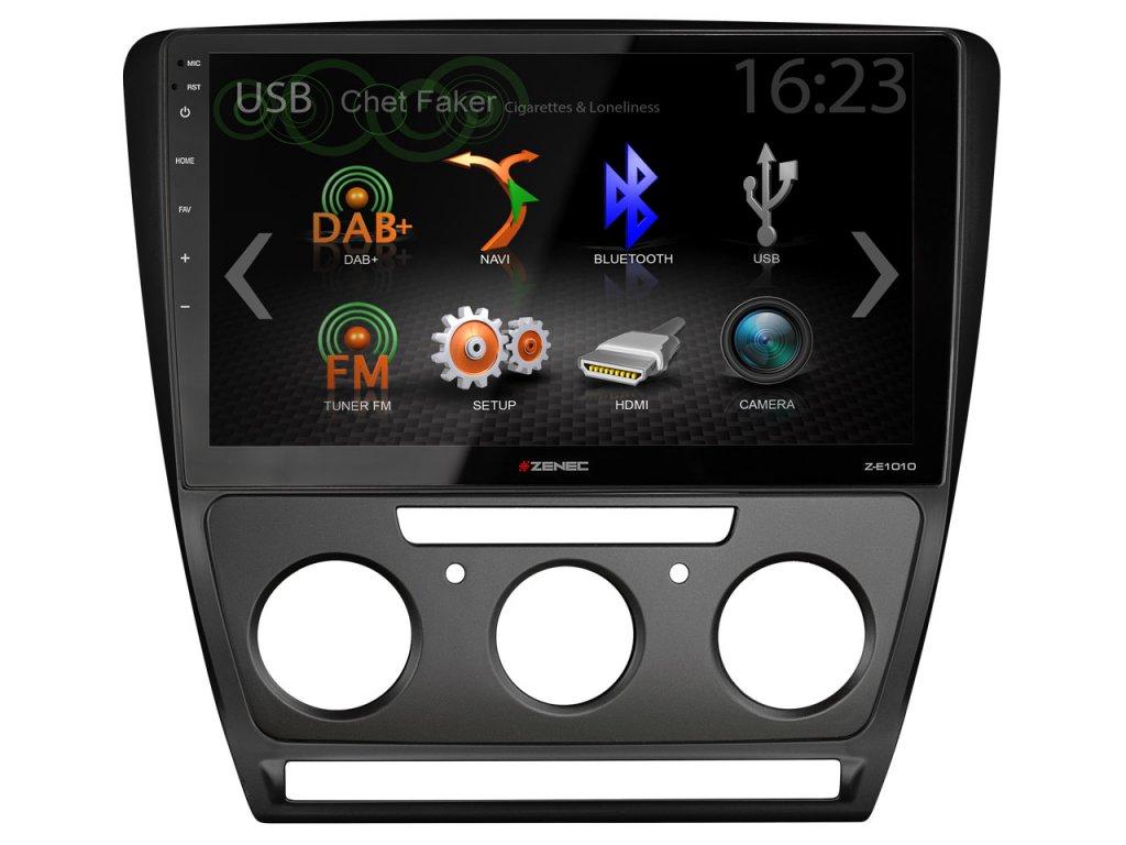Z F5605 frame with infotainer Z E1010