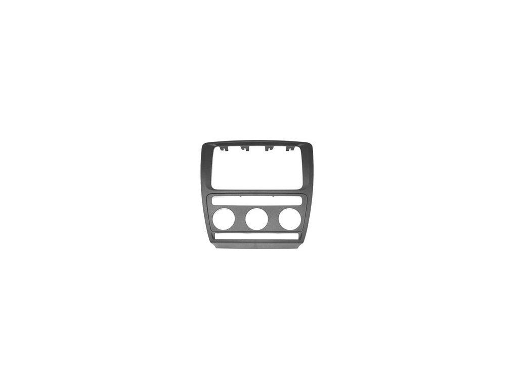Krycí rámeček k navigaci ŠKODA Octavia II. s aut. klimatizací