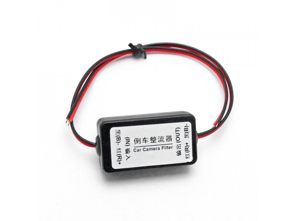 12V filtr napájení couvací kamery