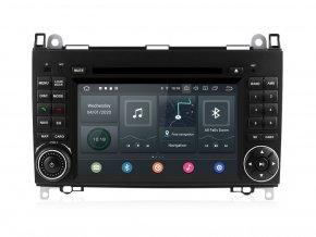 Autorádio Mercedes Benz Sprinter, B, B170, B200, W169, W245, W639 s Androidem 10 a PX6 procesorem