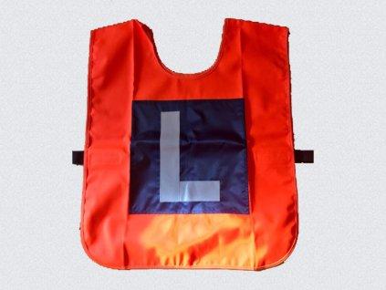 Ochranná reflexní vesta na motocykl-oboustranná. Nová k 1.5.2017