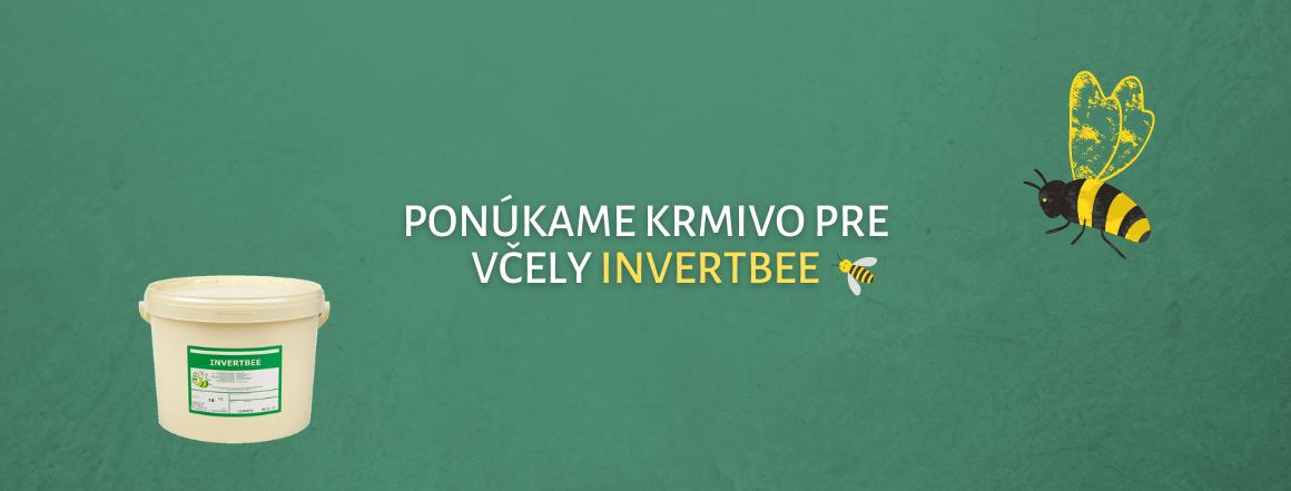 Krmivo pre včely Invertbee