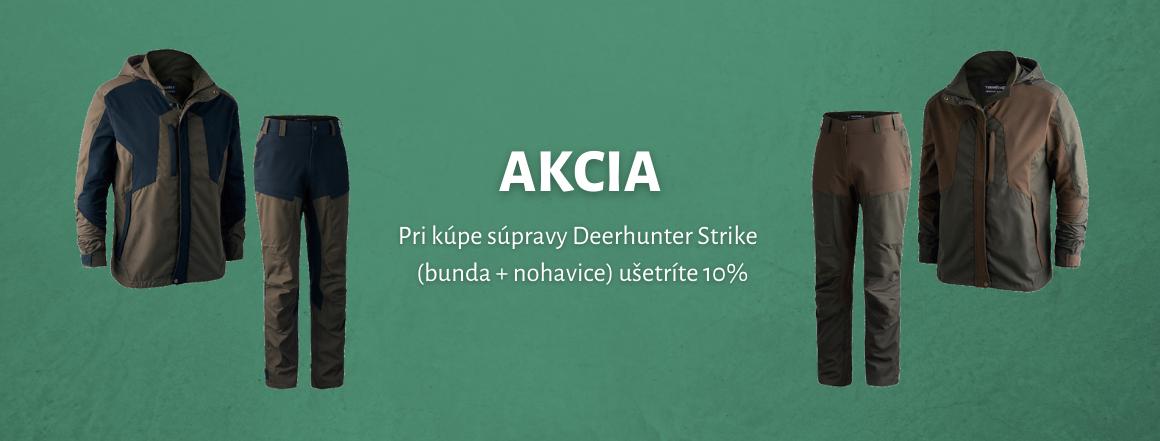 Pri kúpe súpravy Deerhunter Strike ušetríte 10%
