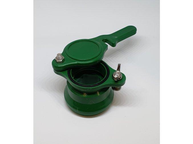 ventil vypustny plastovy zeleny