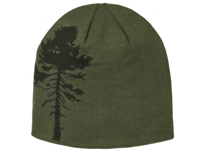 9124 542 2 Pinewood Knitted Hat Tree Green