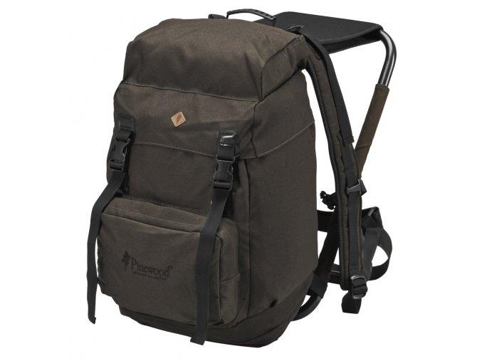 9613 241 1 Pinewood Hunting Backpack 35 L Suede Brown