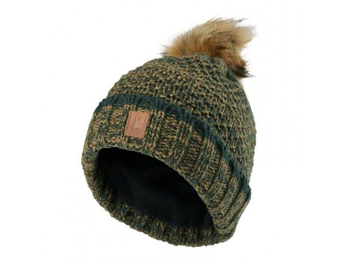 deerhunter lady knitted hat damska pletena ciapka