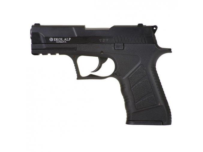 Plynová pištoľ Ekol Alp, čierny kal. 9 mm