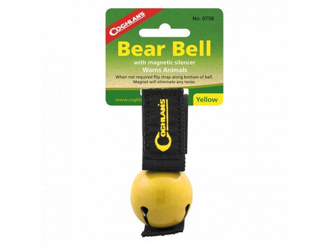 zvonček proti medveďom detail