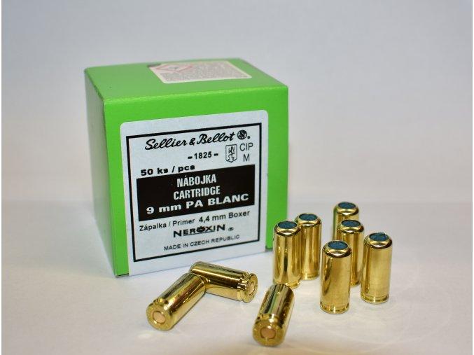Poplašné náboje pištoľ Sellier & Bellot 9 mm