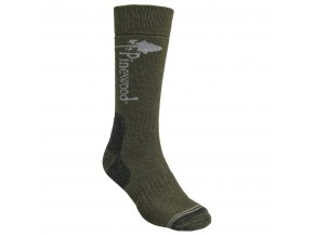 9501 148 1 Pinewood Sock Melange 1 Pack Olive Melange