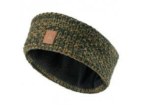 deerhunter lady knitted headband damska pletena celenka