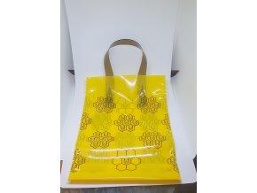 Darčeková taška na 1kg medu žltá