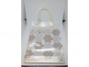 Darčeková taška na 1kg medu biela