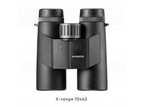 Ďalekohľad s diaľkomerom Minox X-range 10x42